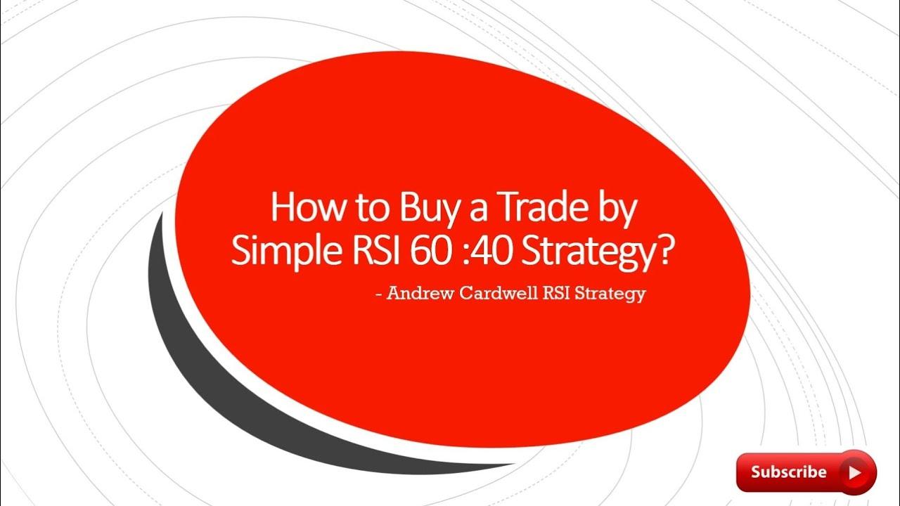 rsi 40 60 strategija kobros prekybos strategija
